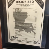 Photo taken at Dixie's BBQ by Clayton P. on 2/20/2013