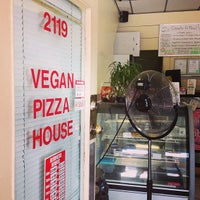 Photo taken at Vegan Pizza House by Richard G. on 7/14/2013