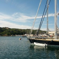Photo taken at Porto di Santa Teresa di Gallura by Pier Domenico B. on 8/13/2013