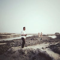 Photo taken at Perpat Beach by Fareed Z. on 3/23/2014