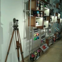 Photo taken at Lomography Gallery Store by Reinaldo L. on 11/10/2012
