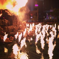 Photo taken at The Mirage Volcano by James F. on 4/27/2013