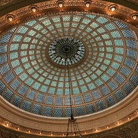 Photo taken at Tiffany Dome At The Chicago Cultural Center by JoEllen E. on 10/11/2017
