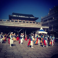 Photo taken at The National Folk Museum of Korea by Hyemi Y. on 2/11/2013