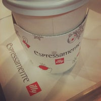 Photo taken at espressamente illy by Hyemi Y. on 2/3/2013