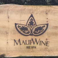 Photo taken at Maui's Winery by KAllyn on 12/12/2016