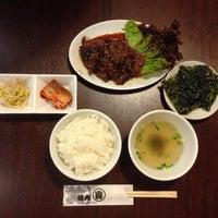 Photo taken at 焼肉まる喜 by OYAJI on 2/13/2014