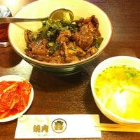 Photo taken at 焼肉まる喜 by OYAJI on 6/17/2013