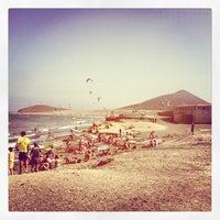 Photo taken at Playa Los Balos by JavierSanTo on 7/14/2013