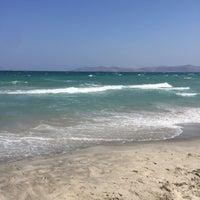 Photo taken at Marmari Beach by Nat ☀. on 7/5/2017