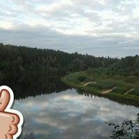 Photo taken at Gaujas Stāvo krastu Sajūtu taka by Карина Я. on 9/23/2016