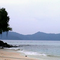 Photo taken at Manukan Island by Elena A. on 9/16/2012