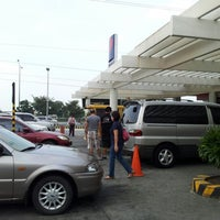 Photo taken at Petron Service Station by Lui V. on 10/7/2012