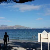 Photo taken at Beach View, Camayan Beach Resort by Denmark D. on 12/27/2014