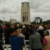 Photo taken at Onehunga War Memorial Pools by Terri M. on 11/10/2012