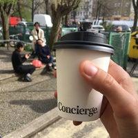 Das Foto wurde bei Concierge Coffee von Andrei R. am 4/13/2018 aufgenommen