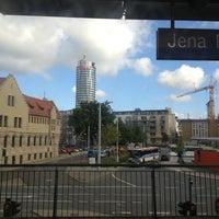Das Foto wurde bei Bahnhof Jena Paradies von Thomas G. am 8/14/2013 aufgenommen