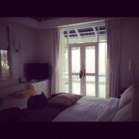 Photo taken at Centara Grand Beach Resort & Villas Hua Hin by Bongkot P. on 10/7/2012