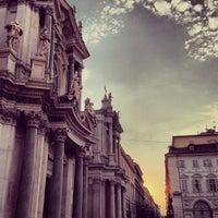 Photo taken at Piazza San Carlo by Davide R. on 7/20/2013