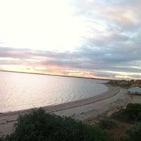 Photo taken at Alexanders Beach Ceduna by Troy H. on 6/13/2013