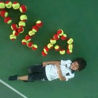 Photo taken at Performans Tenis Akademisi Cemile Sultan Korusu by Dinçer E. on 10/13/2013