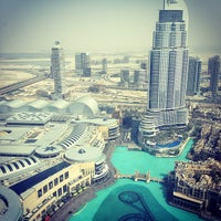 Photo taken at Burj Khalifa by Huda K. on 3/30/2013