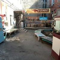 "Photo taken at Артгалерея ""Кладовка"" by La_Gata on 4/21/2014"