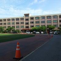 Photo taken at 정의여자중학교 by soojung c. on 8/25/2013