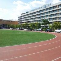 Photo taken at 정의여자중학교 by soojung c. on 9/23/2012