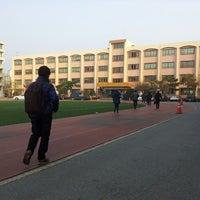 Photo taken at 정의여자중학교 by soojung c. on 11/24/2013
