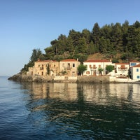 Photo taken at Kyparissi by Despina D. on 6/21/2016