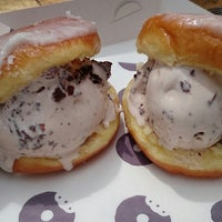 Photo taken at Doughboys Doughnuts by Andrew S. on 2/22/2015