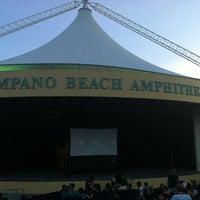 Photo taken at Pompano Beach Amphitheatre by Howard P. on 6/22/2013