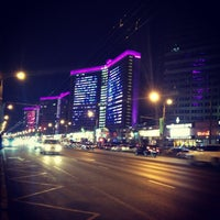 Photo taken at New Arbat Street by Valeria Z. on 3/8/2013