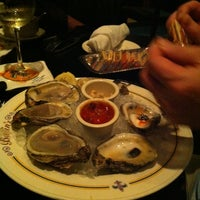 Photo taken at Babin's Seafood House by Michelle on 10/27/2012