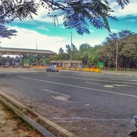 Photo taken at Bus Stop (Sta. Rosa Exit) by Norman R. on 12/24/2013