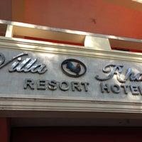 Photo taken at Villa Rhazel Resort Hotel by Andrey S. on 3/14/2013