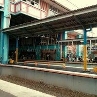 Photo taken at Stasiun Depok Baru by Bintang R. on 1/31/2013