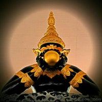 Photo taken at วัดศีรษะทอง (วัดพระราหู) Wat Sisa Thong by Phum P. on 2/27/2013