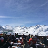 Photo taken at Festkogel Alm by Håkon D. on 3/10/2014