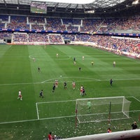Photo taken at Red Bull Arena by Benny W. on 10/6/2012