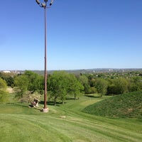 Photo taken at Burnet Park Golf Course by Becky O. on 5/6/2013