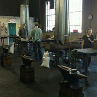 Photo taken at Virginia Institute Of Blacksmithing by Mark S. on 9/24/2016