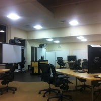 Photo taken at Bentley MBA Studio by George A. on 2/11/2013