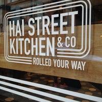Photo taken at Hai Street Kitchen & Co. by Jared K. on 5/31/2014
