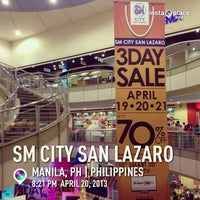 Foto tomada en SM City San Lazaro por Libius C. el 4/20/2013