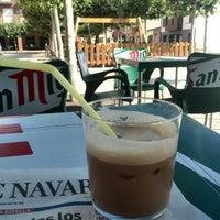 Photo taken at Cafetería Los Porches by Iñaki G. on 7/30/2014