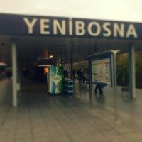 Photo taken at Yenibosna Metro İstasyonu by Hamit I. on 12/2/2012
