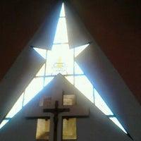 Photo taken at Parroquia de Nuestra Señora Aparecida del Brasil by LUIS D. on 10/13/2012