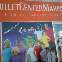 Photo taken at Marines Outlet Center by Maja P. on 12/3/2012